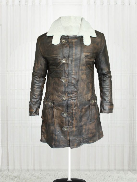The Dark Knight Rises Tom Hardy Bane Coat