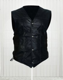 The Walking Dead Angel Daryl Dixon Leather Men Vest