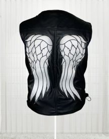 The Walking Dead Angel Daryl Dixon Leather Men Vests