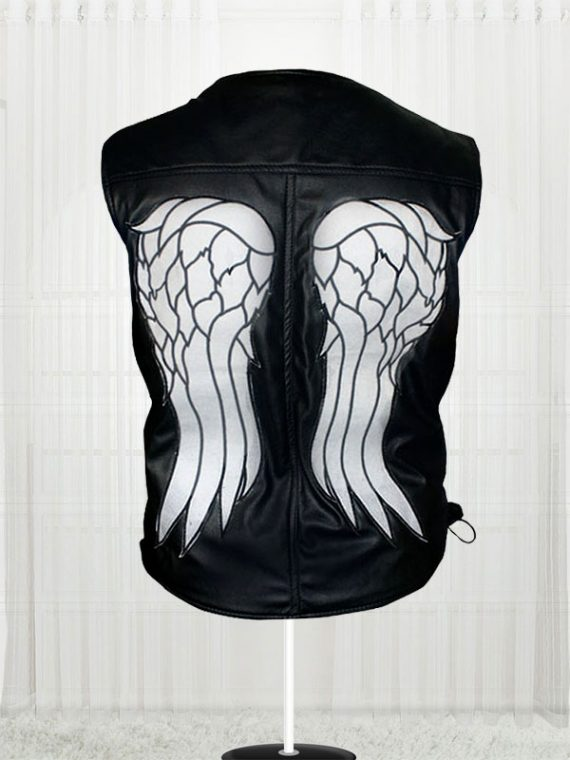 The Walking Dead Angel Daryl Dixon Leather Men Vests