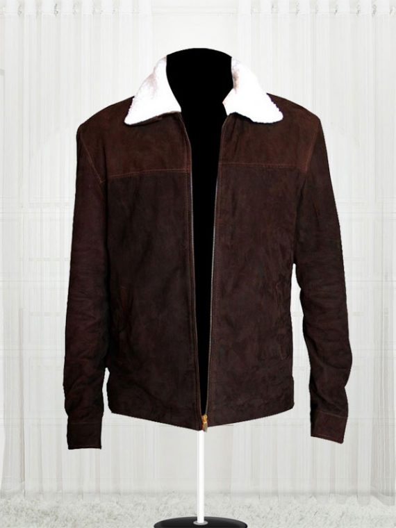 The Walking Dead Rick Grimes Suede leather Jackets