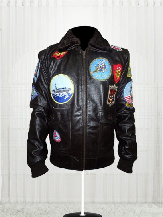 Tom Cruise Top Gun Movie Black Jackets For Men