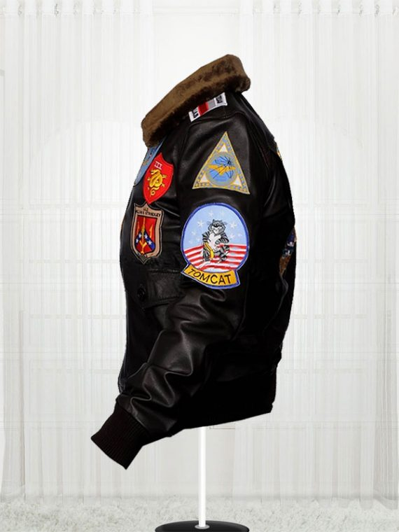 Tom Cruise Top Gun Movie Black Jackets For Mens