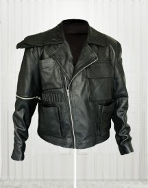 Tom Hardy Mad Max Fury Road Movie Black Leather Jacket