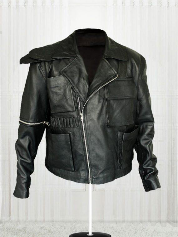 Tom Hardy Mad Max Fury Road Movie Black Leather Jacket