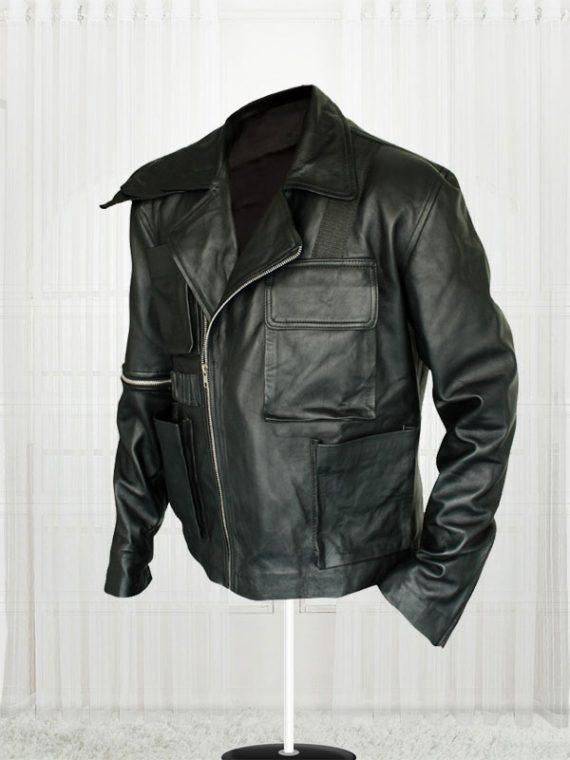 Tom Hardy Mad Max Fury Road Movie Black Leather Men's Jacket