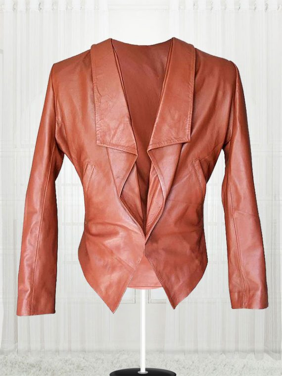 Two Broke Girls Caroline Channing Leather Jacket