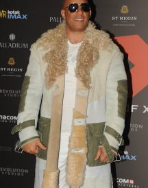 Mumbai Premiere Vin Diesel xXx Movie Fur Coat