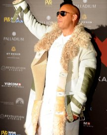 Mumbai Premiere Vin Diesel xXx Movie Fur Coats