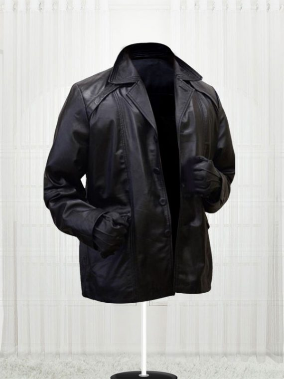 Rocky Sylvester Stallone Leather Coat