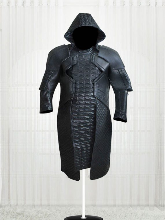 Ronan the Accuser Guardians of Galaxy Leather Long Coat