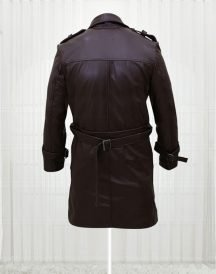 Rorschach Watchmen Leather Costume Trench Coats