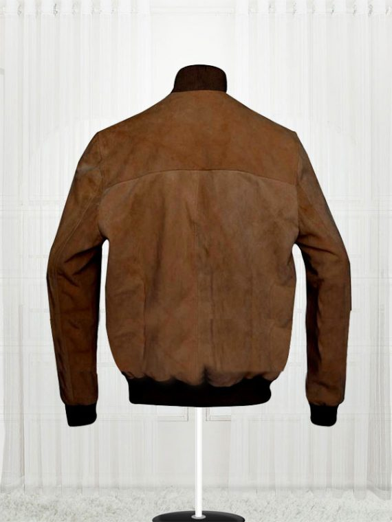 San Andreas Dwayne Johnson (Ray) Brown Bomber Jackets