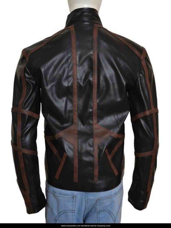 Sebastian Black Leather Jackets