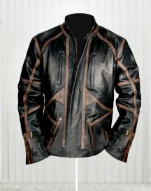 Sebastian Stan Bucky Barnes Black Leather Jacket