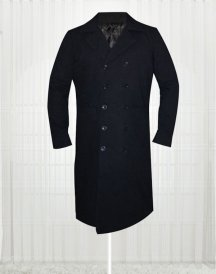 Simon Pegg The World's End Black Trench Coat