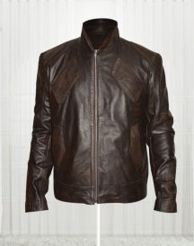 Snow Lockout Brown Jacket