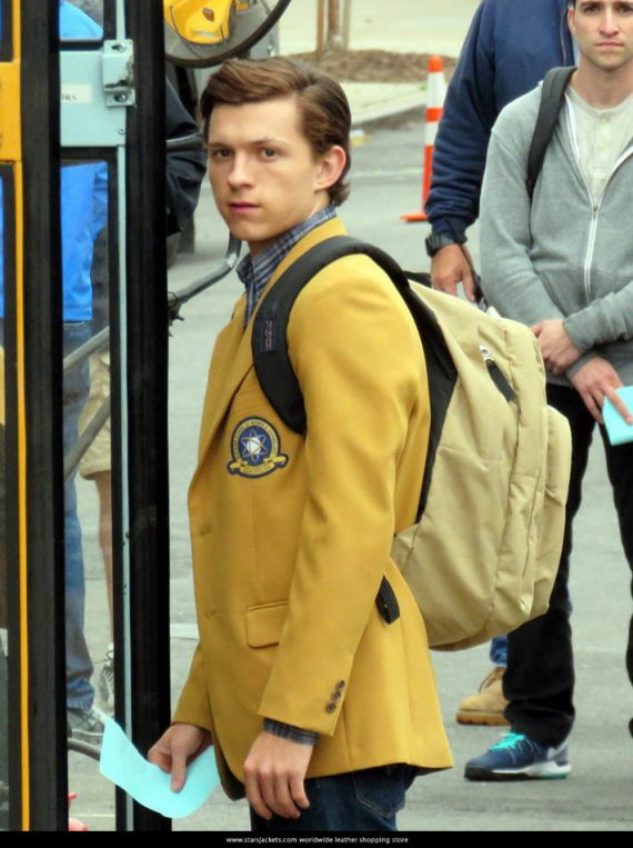 Spider-Man Homecoming 2017 Tom Holland Midtown School Jackets
