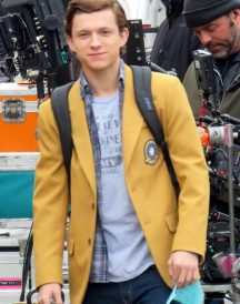 Spider-Man Homecoming Tom Holland Midtown School Jacket