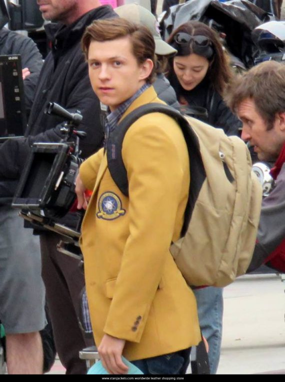 Spiderman Homecoming 2017 Tom Holland Jacket