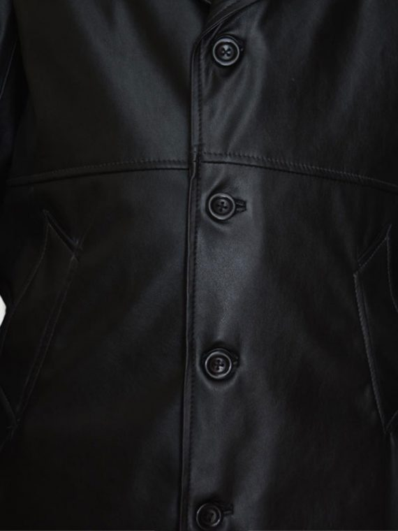 Spike Buffy The Vampire Black Leather Coat