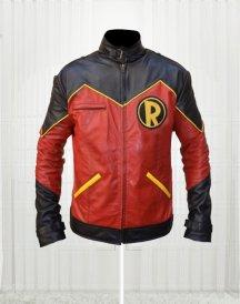 Superhero Robin Tim Drake Leather Jacket