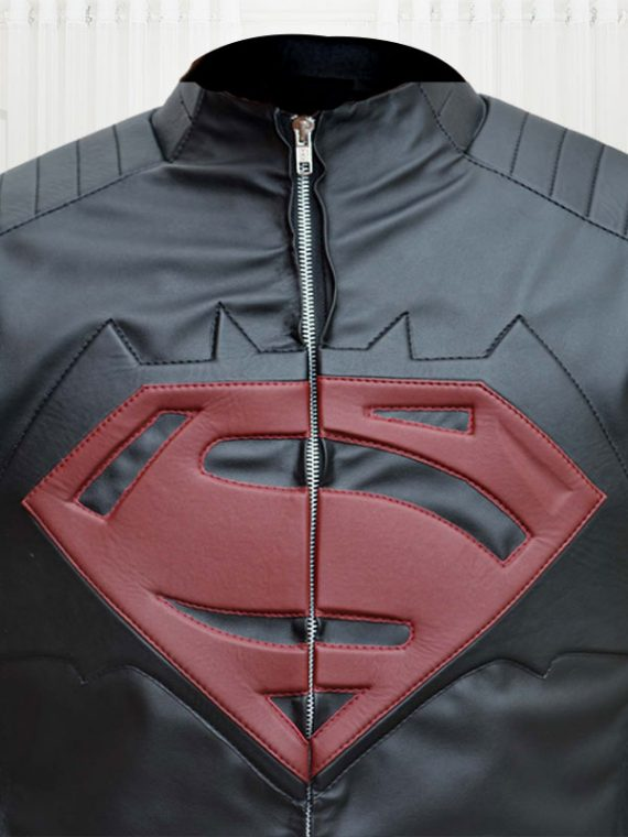 Superman Batman Black Jacket