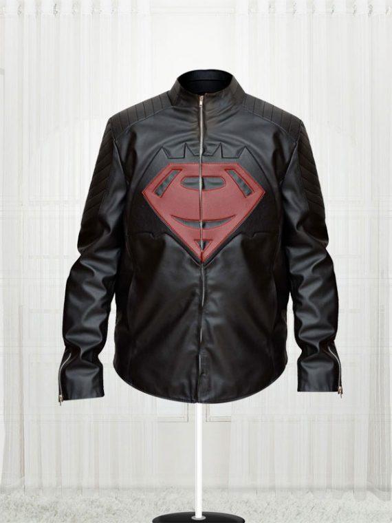 Superman Batman 'S' Logo Jacket