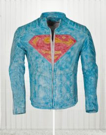 Superman Smallville Waxed Jacket