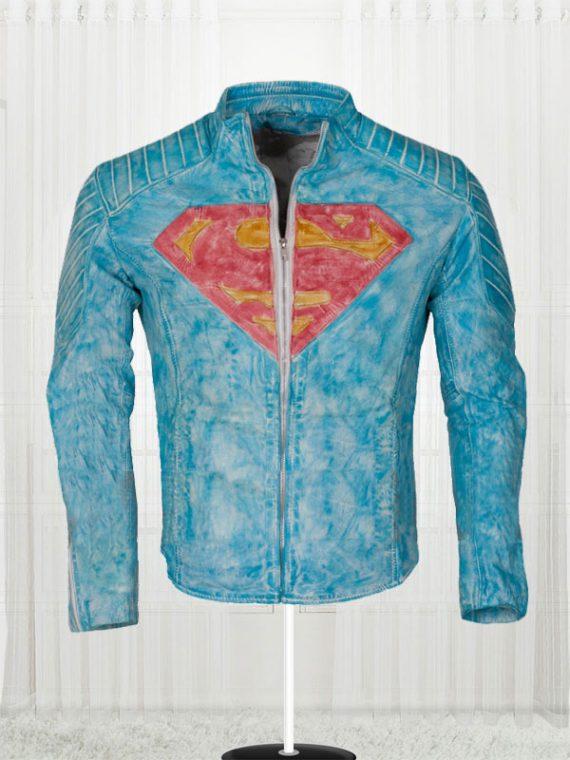 Superman Smallville Waxed Jacket