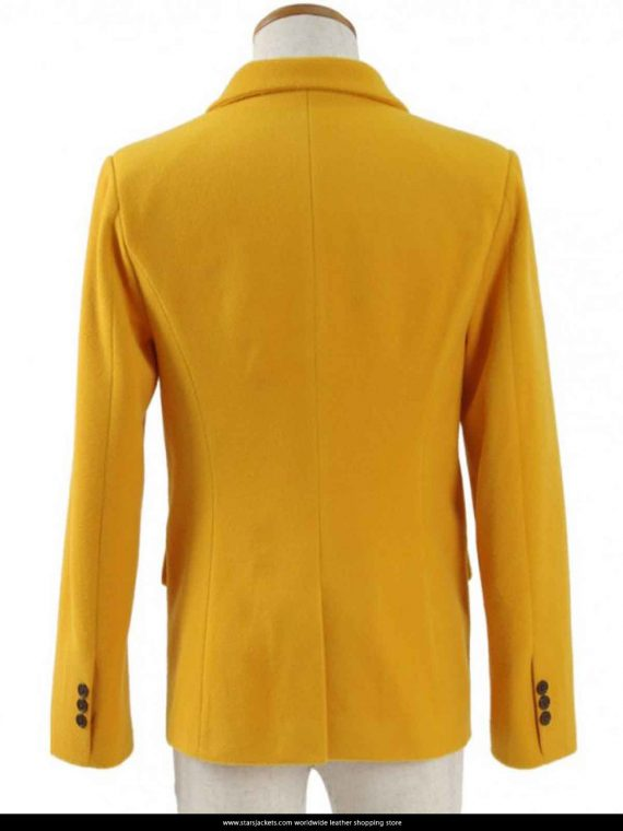 Tom Holland High School Yellow Coat