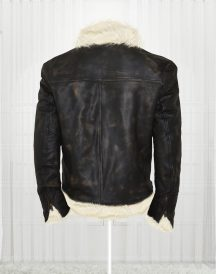Vin Diesel Movie Triple xXx 2002 Leather Fur Jacket