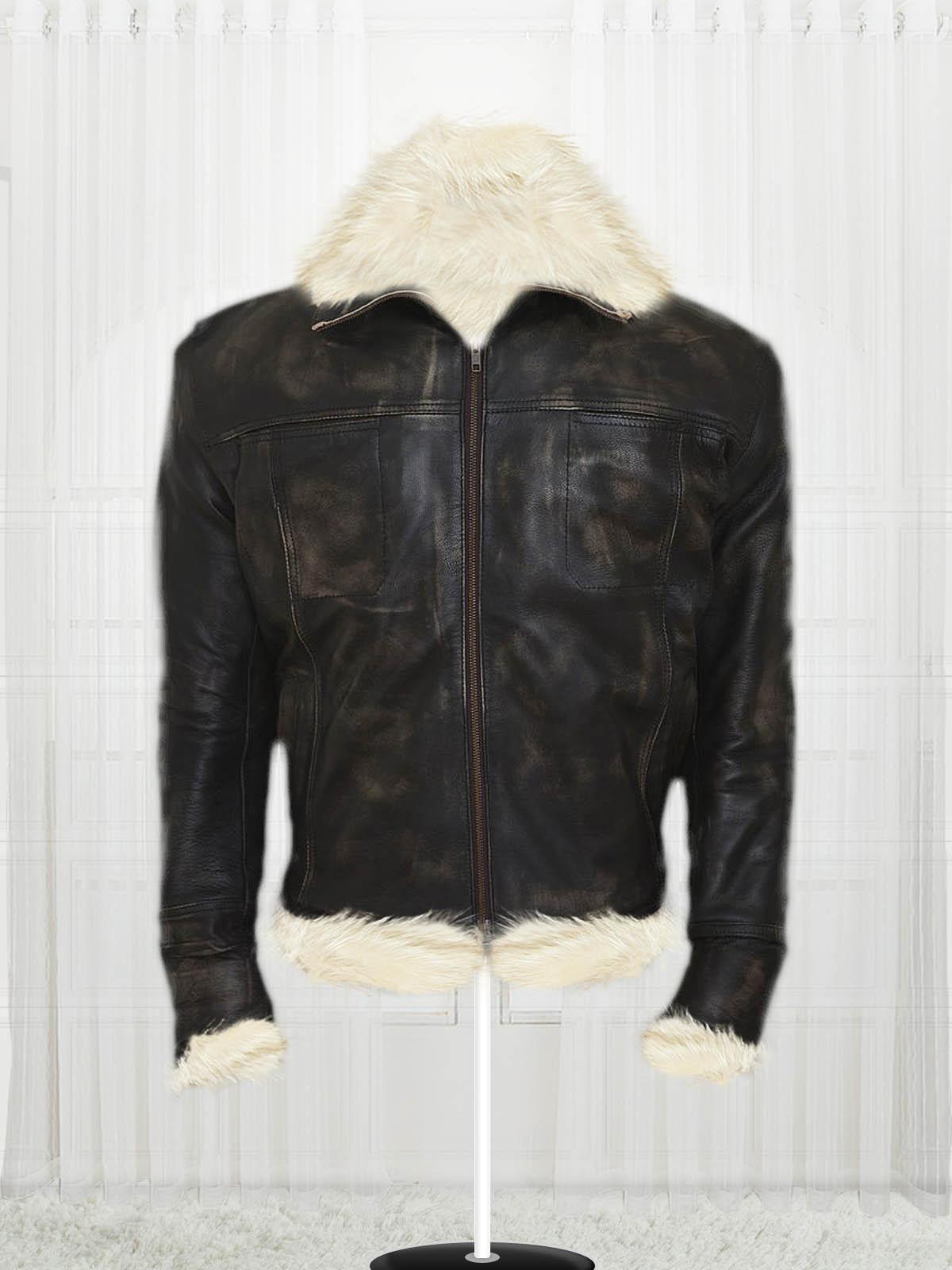40061b5b4ac Vin Diesel Triple X Leather Fur Jacket - Stars Jackets