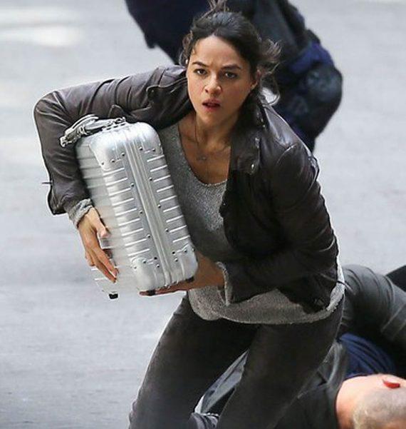 2017 Movie Fast 8 Michelle Rodriguez Jacket