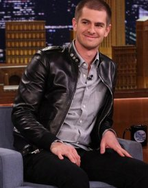 Andrew Garfield Leather Jacket
