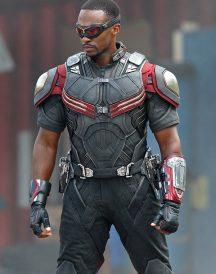 Anthony Mackie Captain America Civil War Jacket