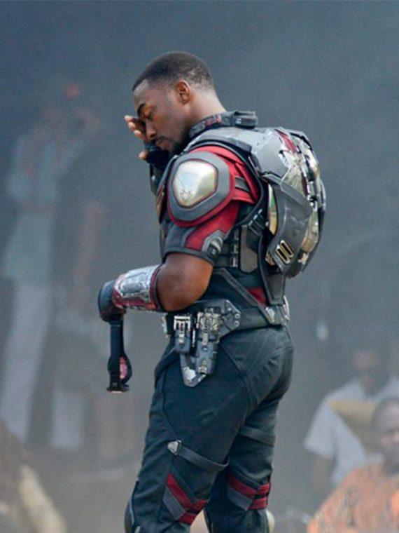 Anthony Mackie Captain America Civil War Jackets
