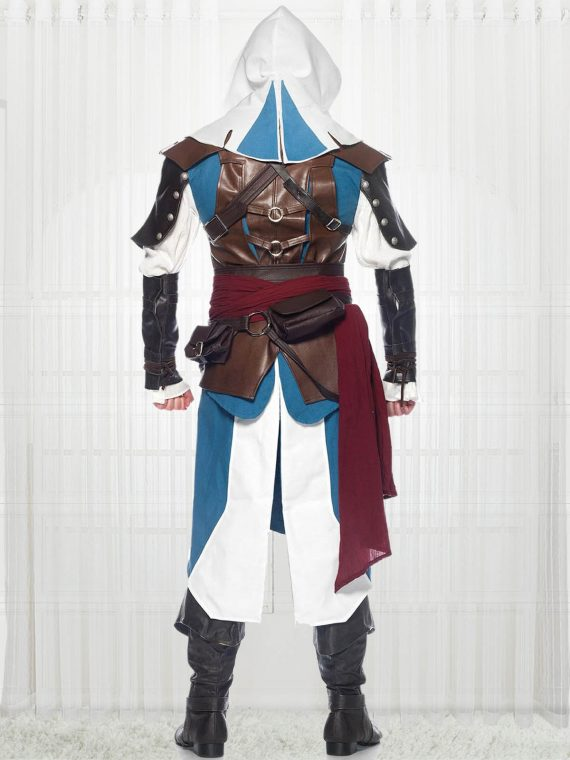 Assassin's Creed 4 Edward Kenway Leather Costume