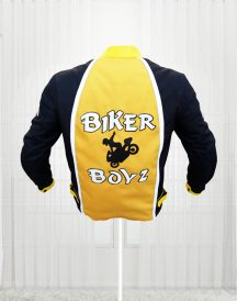 Biker Boyz 2003 Derek Luke Kid Yellow Motorcycle Jackets