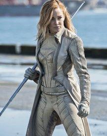 Caity Lotz Legends of Tomorrow Gray Coat
