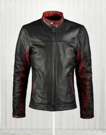 Crusader Dark Knight Thrix Leather Jacket