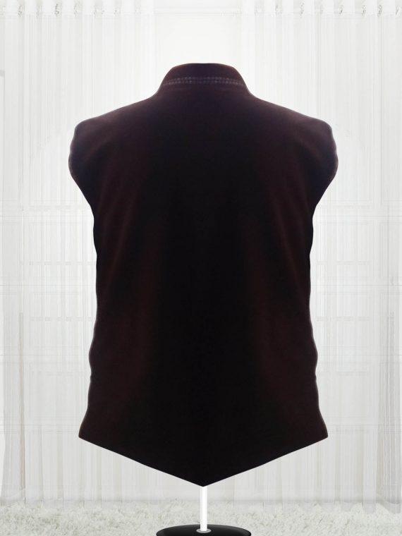 Custom Made Dark Brown Suede Vests