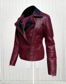 Dana DeLorenzo Kelly Maxwell Ash Vs Evil Dead Leather Jacket
