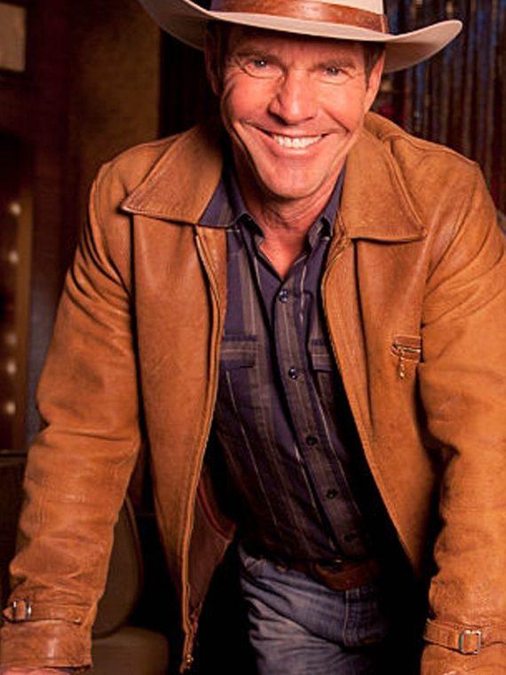 Dennis Quaid Vegas TV Series Sheriff Ralph Lamb Brown Jackets