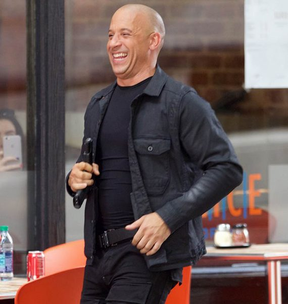 Fast 8 Dominic Toretto Vin Diesel Black Jackets