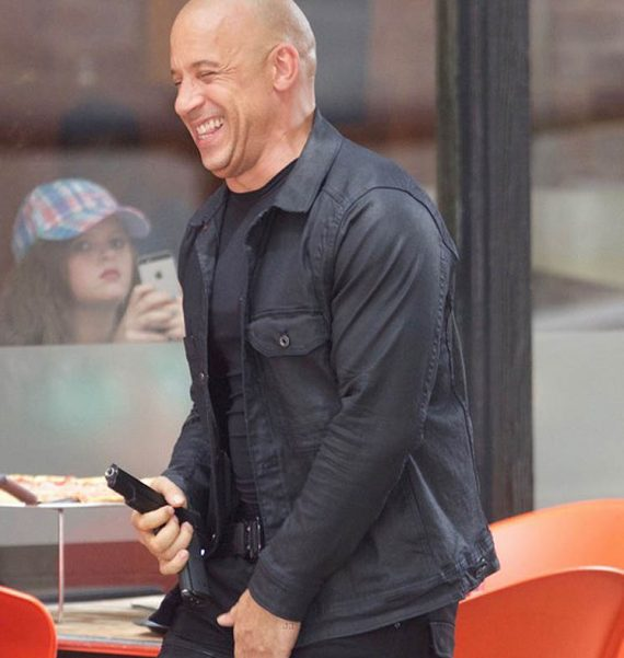 Fast 8 Dominic Toretto Vin Diesel Jacket