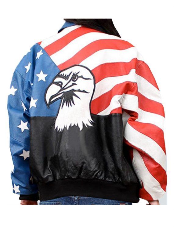 Flag Stylish Women Jacket