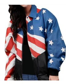 Flag Stylish Women Jackets
