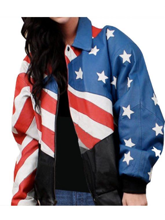 Flag Stylish Women Jackets