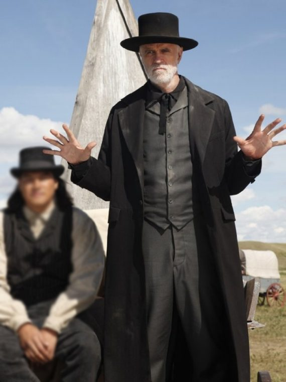 Hell on Wheels Reverend Nathaniel Cole Coat